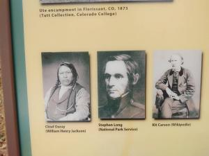 Famous folks of the trail.