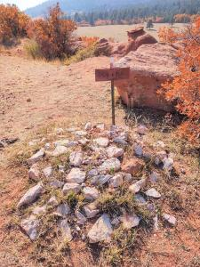 Pet cemetery.